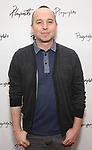 Jordan Harrison attends the photo call for Playwrights Horizons world premiere production of 'Log Cabin' on May 8, 2018 at Playwrights Horizons rehearsal hall in New York City.
