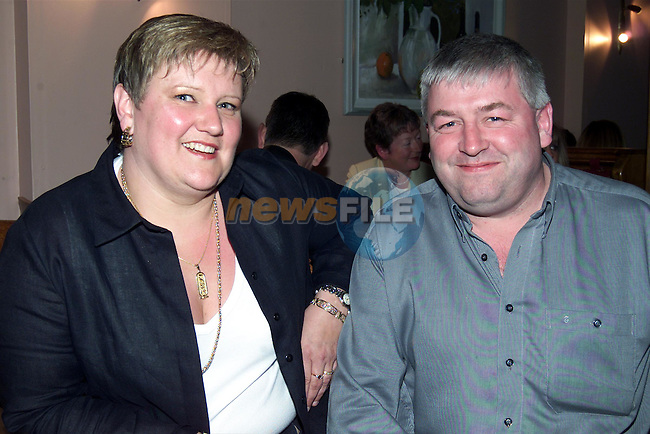 Tony and Cathy Ward at the official opening of La Boheme  in Shop Street..Picture: Paul Mohan/Newsfile