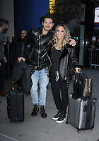 NEW YORK, NY November 23: Gleb Savchenko, Jane Kramer winner of Dancing with Stars 2016 at Good Morning America in New York City.November 23, 2016. Credit:RW/MediaPunch