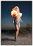 Burlesque Hall of Fame Dancer Satan's Angel