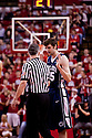 11 January 2012: Billy Oliver #35 of the Penn State Nittany Lions fouls out in the game against the Nebraska Cornhuskers during the second half at the Devaney Sports Center in Lincoln, Nebraska. Nebraska defeated Penn State 70 to 58.