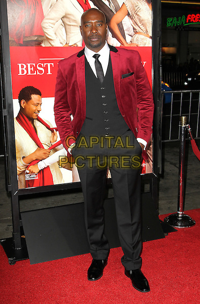 05 November 2013 - Hollywood, California - Morris Chestnut at &quot;The Best Man Holiday&quot; Los Angeles Premiere held at TCL Chinese Theatre on November 5th, 2013<br /> CAP/ADM/KB<br /> &copy;Kevan Brooks/AdMedia/Capital Pictures