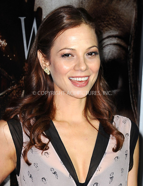 WWW.ACEPIXS.COM<br /> <br /> October 7 2013, LA<br /> <br /> Tamara Braun arrives at the premiere of  'Carrie' at ArcLight Cinemas on October 7, 2013 in Hollywood, California.<br /> <br /> By Line: Peter West/ACE Pictures<br /> <br /> <br /> ACE Pictures, Inc.<br /> tel: 646 769 0430<br /> Email: info@acepixs.com<br /> www.acepixs.com