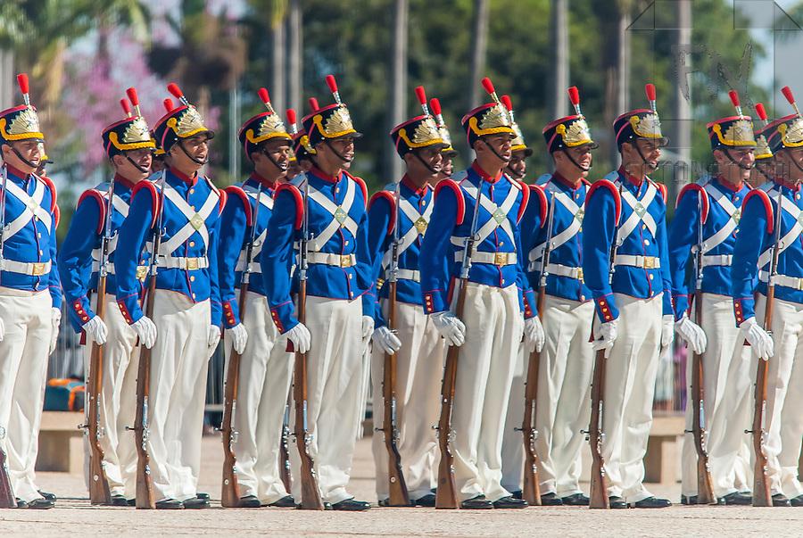 Batalh&atilde;o da Guarda Presidencial na Pra&ccedil;a dos Tr&ecirc;s Poderes | Presidential Guard Battalion in the Three Powers Square<br /> <br /> LOCAL: Bras&iacute;lia, Distrito Federal, Brasil<br /> DATE: 04/2010<br /> &copy;Pal&ecirc; Zuppani