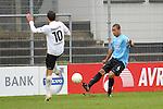 Sandhausen 05.12.2009, 3. Liga SV Sandhausen - FC Ingolstadt 04, Sandhausens Daniel Jungwirth gegen Ingolstadts David Pisot<br /> <br /> Foto &copy; Rhein-Neckar-Picture *** Foto ist honorarpflichtig! *** Auf Anfrage in h&ouml;herer Qualit&auml;t/Aufl&ouml;sung. Ver&ouml;ffentlichung ausschliesslich f&uuml;r journalistisch-publizistische Zwecke. Belegexemplar erbeten.