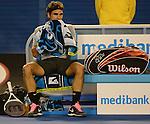 Roger Federer (SUI) Defeats Bernard Tomic (AUS) 6-4, 7-6, 6-1
