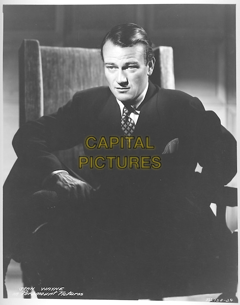 JOHN WAYNE.filmstill.**Editorial Use Only**.CAP/PLF.Supplied by Capital Pictures