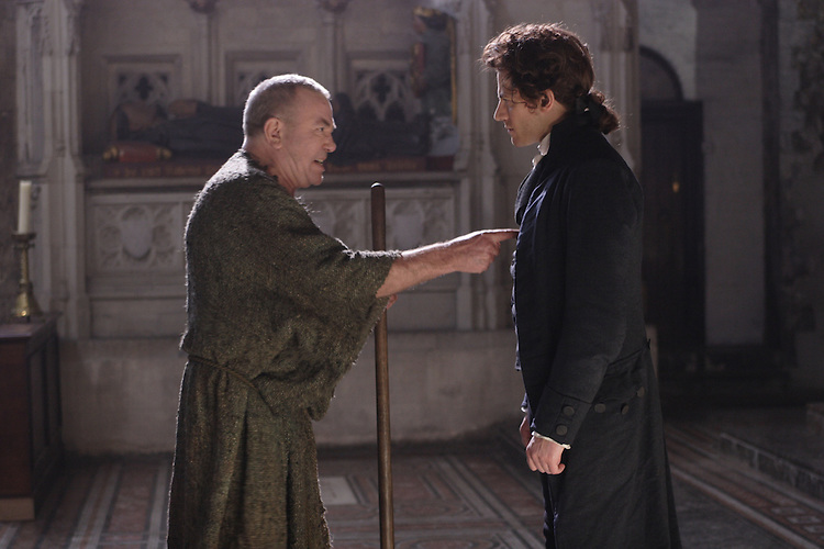 Albert Finney as John Newton and Ioan Gruffudd as William Wilberforce in Amazing Grace..