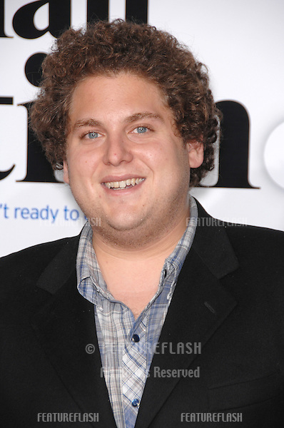 "JONAH HILL at the Los Angeles premiere of ""Stranger than Fiction""..October 30, 2006  Los Angeles, CA.Picture: Paul Smith / Featureflash"