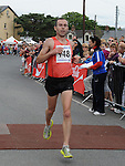 Gary O'Hanlon from Clonliffe Warriors winning the Clogherhead 10k run. Photo: Colin Bell/pressphotos.ie