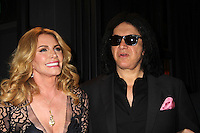 BEVERLY HILLS, CA - OCTOBER 21: Gene Simmons, Shannon Tweed at the World Poker Tournament's Four Kings And An Ace Charity Event at Citizen in Beverly Hills, California on October 21, 2016. Credit: David Edwards/MediaPunch