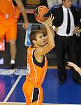 Baloncesto Fuelabrada's Javier Vega during Liga Endesa ACB match.October 30,2011. (ALTERPHOTOS/Acero)