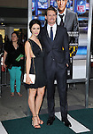 Josh Pence and Abigail Spencer attends The L.A. Premiere of Summit Entertainment's DRAFT DAY held at The Regency Village Theatre in Westwood, California on April 07,2014                                                                               © 2014 Hollywood Press Agency