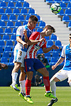 CD Leganes' Unai Bustinza (l) and Atletico de Madrid's Luciano Vietto during friendly match. August 12,2017. (ALTERPHOTOS/Acero)