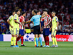 Getafe CF's Jorge Molina during La Liga match. Aug 18, 2019. (ALTERPHOTOS/Manu R.B.)Getafe CF's Jorge Molina protest to referee during the Spanish La Liga match between Atletico de Madrid and Getafe CF at Wanda Metropolitano Stadium in Madrid, Spain