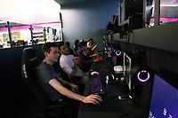 Gamers in the Belong arena