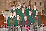 Boys and Girls of Gael Scoil Lois Tuathail who were confirmed by Bishop Bill Murphy on Thursday   Copyright Kerry's Eye 2008