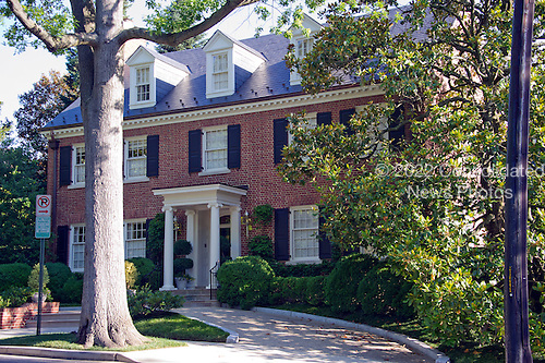 View of the Clinton home in Washington, DC on Saturday morning, July 2, 2016.  Former United States Secretary of State Hillary Clinton is rumored to be questioned by the FBI today in relation to her personal e-mail server that is the center of controversy.<br /> Credit: Ron Sachs / CNP<br /> (RESTRICTION: NO New York or New Jersey Newspapers or newspapers within a 75 mile radius of New York City)