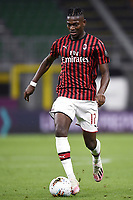 Rafael Leao of AC Milan during the Serie A football match between AC Milan and Bologna FC at stadio Giuseppe Meazza in Milano ( Italy ), July 18th, 2020. Play resumes behind closed doors following the outbreak of the coronavirus disease. <br /> Photo Image Sport / Insidefoto