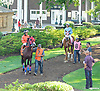 Orbital Flight before The Strike Your Colors Stakes at Delaware Park on 8/5/15