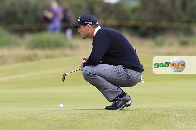David HOWELL (ENG) on the 14th green during Monday's Final Round of the 144th Open Championship, St Andrews Old Course, St Andrews, Fife, Scotland. 20/07/2015.<br /> Picture Eoin Clarke, www.golffile.ie