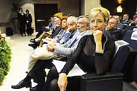 Roma 25 Novembre 2008.Centro Congressi Frentani.20 anni di Federconsumatori. Erin Brockovich, ambientalista, avvocata anticorporate americana...Rome November 25, 2008.Convention Center Frentani.20 years of Federconsumatori. Erin Brockovich, environmentalists, lawyers anticorporate American