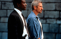 The Jackal (1997) <br /> Richard Gere &amp; Sidney Poitier<br /> *Filmstill - Editorial Use Only*<br /> CAP/KFS<br /> Image supplied by Capital Pictures