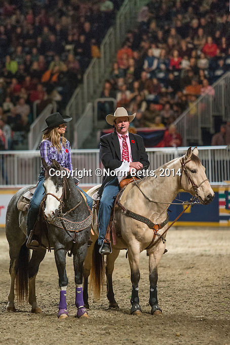 Rodeo 09N0v'14  at the 2014 Royal Agricultural Winter Fair<br /> Toronto, Ontario <br /> <br /> Norm Betts, photographer<br /> tel: 416 460 8743<br /> normbetts@canadianphotographer.com<br /> &copy;2014, normbetts, photographer