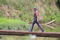 Rory MCILROY (NIR) crosses the footbridge to the 9th tee during Thursday's Round 1 of the 2014 PGA Championship held at the Valhalla Club, Louisville, Kentucky.: Picture Eoin Clarke, www.golffile.ie: 7th August 2014