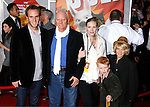 "HOLLYWOOD, CA. - November 17: Actor Malcolm McDowell and family arrive at the World Premiere of Walt Disney's ""Bolt"" at the El Capitan Theatre on November 17, 2008 in Hollywood, California..."