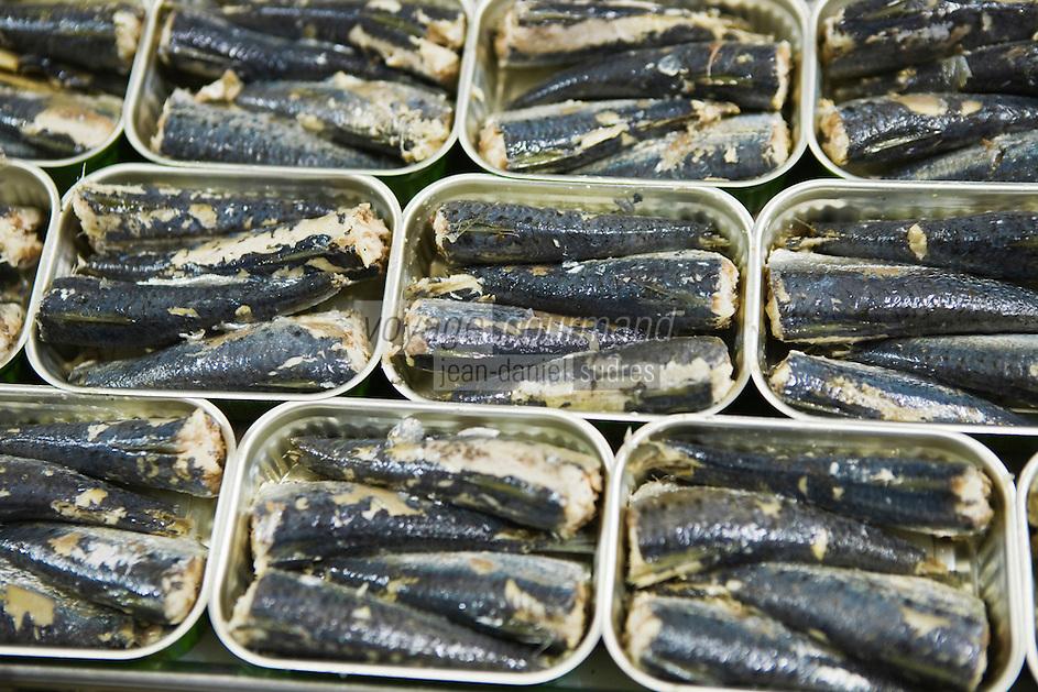 Europe/France/Bretagne/29/Finistère/ Douarnenez: Conserverie de sardines Chancerelle