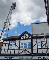 General view outside of the Stadium during the Sky Bet League 2 match between Portsmouth and Wycombe Wanderers at Fratton Park, Portsmouth, England on 23 April 2016. Photo by Andy Rowland.