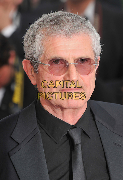 "CLAUDE LELOUCHE.at the screening of ""Blindness"", the opening film at the.61st Cannes International  Film Festival .14th May 2008 .gala premiere portrait headshot glasses black tie.CAP/PL.© Phil Loftus/Capital Pictures"