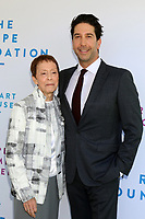 LOS ANGELES - OCT 6:  Gail Abarbanel, David Schwimmer at  The Rape Foundation's Annual Brunch at the Private Estate on October 6, 2019 in Beverly Hills, CA