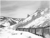 San Juan near Toltec.<br /> D&amp;RGW  near Toltec, CO  Taken by Richardson, Robert W. - 12/25/1948