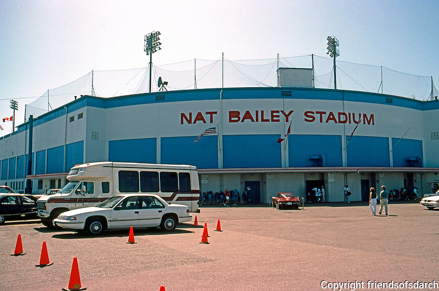 Ballparks: Vancouver, B.C. Nat Bailey Stadium, 1992. July 29, 1992 at Little Mountain Park.