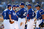Images from a spring training game between the Los Angeles Dodgers and the Colorado Rockies, in Glendale, Ariz., on Saturday, March 7, 2020. <br /> Photo by Cathleen Allison/Cathleen Allison Photography