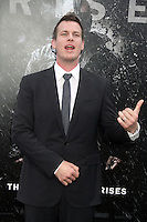 NEW YORK, NY - JULY 16:  Jonathan Nolan at 'The Dark Knight Rises' premiere at AMC Lincoln Square Theater on July 16, 2012 in New York City.  © RW/MediaPunch Inc.