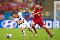 Spain vs Chile, June 18, 2014