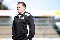 """Graham Westley of Newport County AFC<br /> Re: Newport County manager Graham Westley has defended his conduct after a row that saw club secretary Graham Bean leave after just three weeks.<br /> He left Newport as he """"cannot work"""" with Westley.<br /> """"Any business that goes on between me and the football club is business between me and them,"""" Westley said.<br /> Bean says he quit the club because of the rift with Westley, who was appointed in October, but the manager says Bean was dismissed.<br /> The club confirmed Bean's departure, but declined to comment further."""