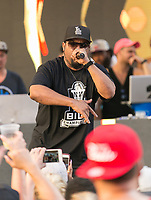 LAS VEGAS, NV - August 27, 2017  : ***HOUSE COVERAGE*** ICE CUBE performs at REHAB Pool Party at Hard Rock Hotel & Casino in Las vegas, NV on August 27, 2017. Credit: GDP Photos/ MediaPunch
