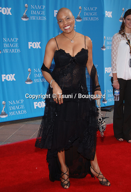 Dee Dee Bridgewater  at the NAACP Image Awards at the Shrine Auditorium In Los Angeles.<br /> <br /> headshot<br /> eye contact<br /> smile