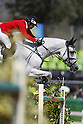 Daisuke Fukushima (JPN), <br /> AUGUST 14, 2016 - Equestrian : <br /> Jumping Individual Qualification <br /> at Olympic Equestrian Centre <br /> during the Rio 2016 Olympic Games in Rio de Janeiro, Brazil. <br /> (Photo by Koji Aoki/AFLO SPORT)