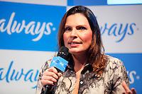 SAO PAULO, 12 DE JULHO DE 2012. A psicóloga Laura Muller  durante bate papo promovido pela marca de absorvente Always na manhã desta quinta feira. FOTO: ADRIANA SPACA: BRAZIL PHOTO PRESS