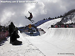 Superpipe competition PCMR, Park City, Utah
