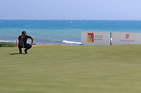 Thorbjorn Olesen (DEN) on the 7th green during Round 2 of the Rocco Forte Sicilian Open 2018 on Friday 11th May 2018.<br /> Picture:  Thos Caffrey / www.golffile.ie<br /> <br /> All photo usage must carry mandatory copyright credit (&copy; Golffile | Thos Caffrey)