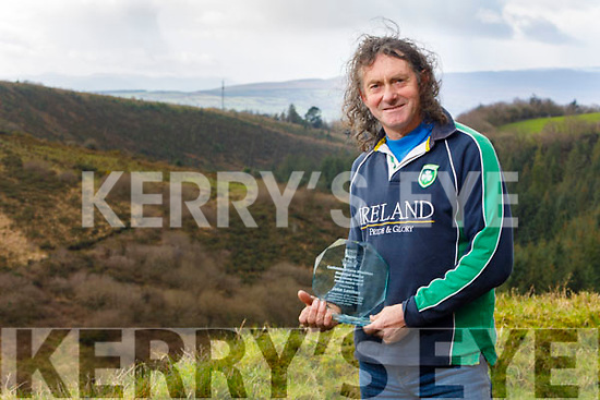 John Lenihan, received a recognition award from the Castleisland-Corca Dhuibhne Municipal District for his achievements in both athletics and  contribution to the Glannageenty Ealk project at the Kerry County Council Annual Awards.