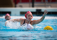 Stanford, CA - March 8, 2020: Sarah Klass at Avery Aquatic Center. The No. 2 Stanford Women's Water Polo team beat the No. 6 Arizona State Sun Devils 9-8.