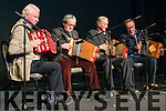 Pat Pigott brought his friends in to play as The Pigott Group at the Killorglin Archive Grand Variety Concert in the CYMS Hall on Friday.<br /> L-R Denis Guerin, Pat Shea, Pat Pigott & John Sullivan