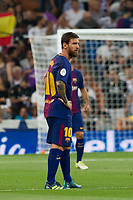 FC Barcelona´s Argentinean forward Lionel Messi lamenting